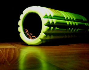 foam roller with vibration