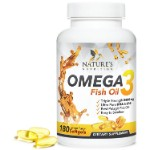 Omega 3 Fish Oil w Triple Strength EPA & DHA 2400mg
