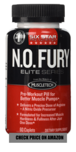 Six Star Pro Nutrition Nitric Oxide Fury