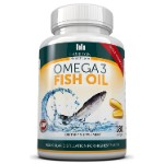 TRIPLE STRENGTH OMEGA 3 FISH OIL, 180 Softgels - 800mg