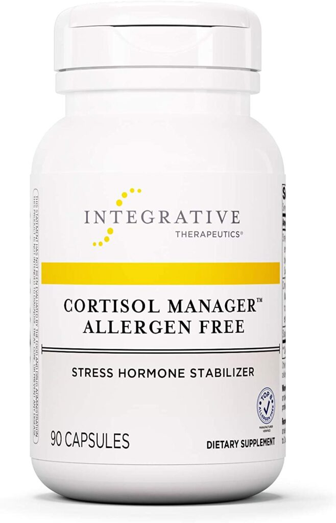 Cortisol Manager Allergen Free - Integrative Therapeutics