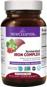 New Chapter Iron Supplement