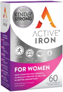active iron for women supplement