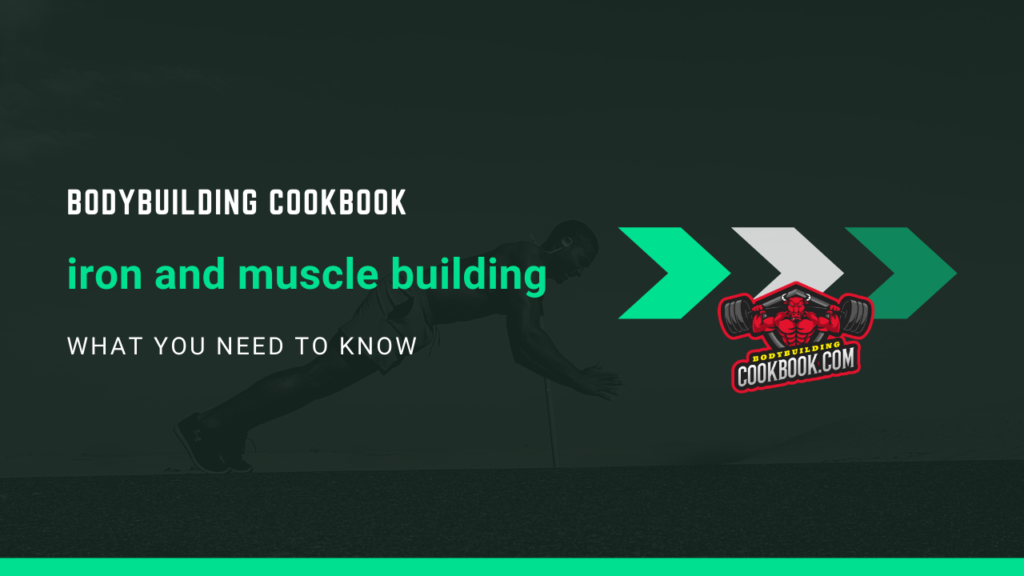 iron and muscle building